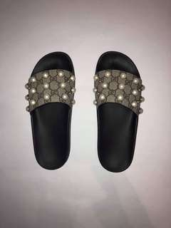 85de217c24ad Gucci supreme pearl slides size 39G (8)