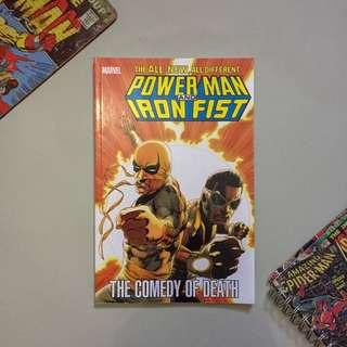 Power Man and Iron Fist: The Comedy of Death Comics Marvel