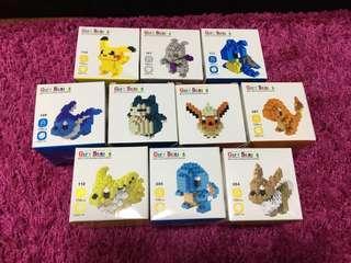 🚚 Pokémon Micro Size Building Blocks