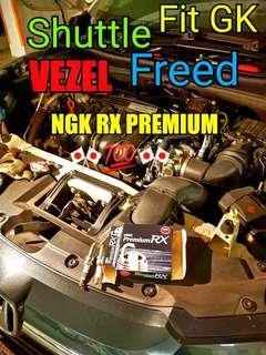 🚚 Honda Vezel Shuttle Freed Fit GK Spark plug ( NGK RX PREMIUM )