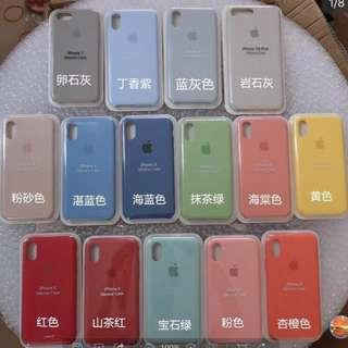 🚚 iPhone 6/6p/7/7p/8/8p/X/XR/XS/MAX Colourful Silicone Casing