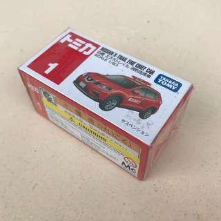 Tomica Nissan X Trail Fire Chief Car