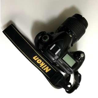 Nikon D50 Kit 18-55mm + 2 Battery Pack ORI + SD Card + Tas Kamera Tamrac