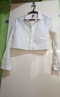 Divided by H&M Hanging White Polo