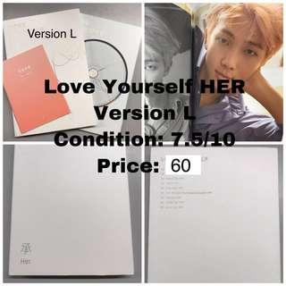 Bts Love Yourself HER version L