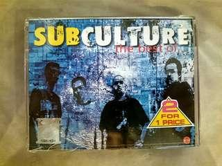 New 2 x Cassette Kaset Subculture the best of