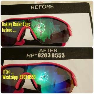 Oakley Ray Ban RayBan sunglasses repair service and restore Callaway Ping Honma Odessy Iron Driver Putter Golf Bag Flak Half Jacket Radar EV Path Fishing Tackle Lure Net Rod Reel