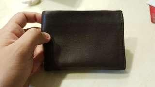 Authentic Longchamp leather wallet