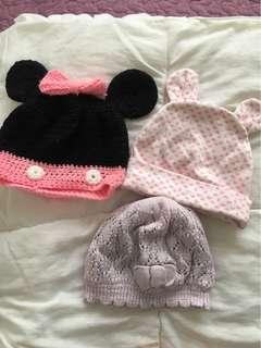 3pcs Baby Hat / beanie free postage