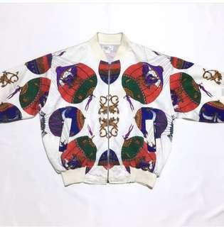 Bomber Jacket Silk Vintage