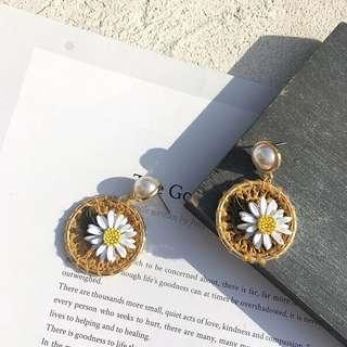 PO Flower Earrings