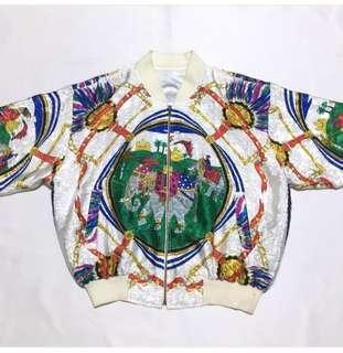 Boomber Jacket Silk Vintage