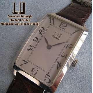 倫敦登喜路 DUNHILL HANDWIND Mechanical watch. Centenary edition.