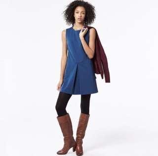 🚚 Uniqlo Blue Sleeveless Dress