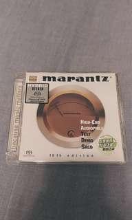 3隻 Marantz 試機碟 HIGH-END AUDIOPHILE TEST DEMO SACD 6th, 10th, 11th