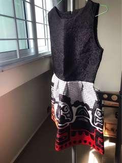 🚚 Baby doll art deco style dress