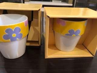 Ceramic Cup, designer mug , new mug, home harmony 2 units