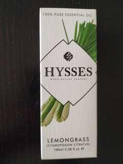 Hysses 100% pure essential oil - Lemongrass 100ml