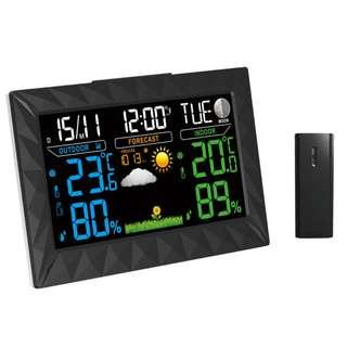 🚚 TS-Y01 Wireless Color Weather Station Forecast Thermometer Hygrometer Temperature Humidity Alarm Snooze