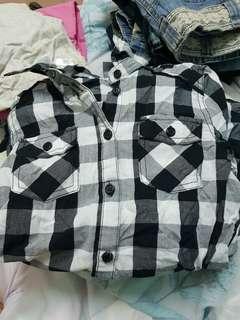 🚚 Net 長版襯衫