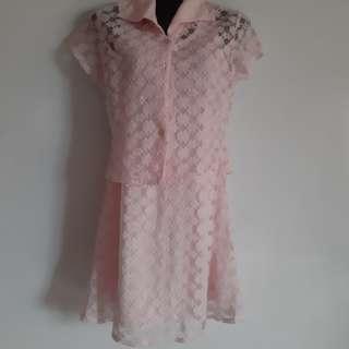 🚚 Pink Cheongsam