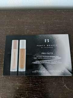 Fenty pro filtr foundation and primer sample