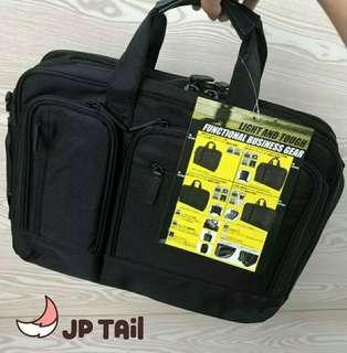 4合1!日本超強!實用袋 電腦袋 公事包 旅行袋 多功能 背囊 斜孭袋 側孭袋 手提袋 men's suitcase laptop case travelling bag