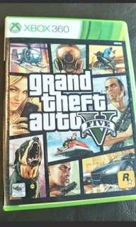 Xbox 360 Game GTA V