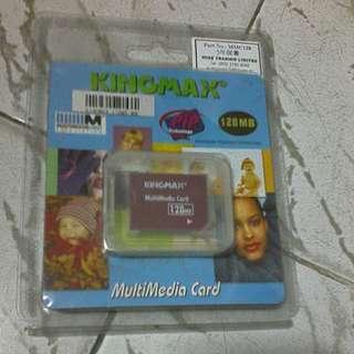全新KINGMAX多功能記憶卡128MB◆歡迎出價◆