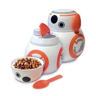 🚚 全新!StarWar星際大戰BB-8行動早餐麥片碗