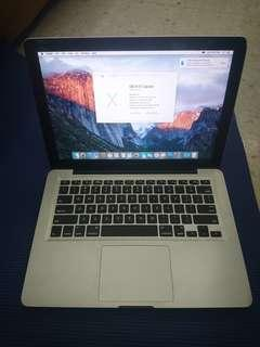 Macbook Pro 13 inch 4gb ram