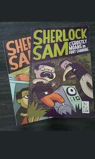 🚚 book clearance : Sherlock Sam book 1 & 2