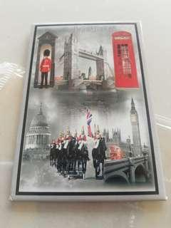 London fridge magnet hard board rm5 NEW