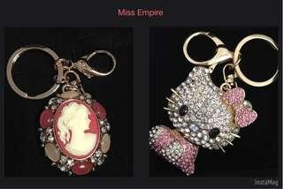 Miss Empire Bag Charms