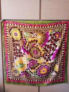 45r Colorful Square Scarf