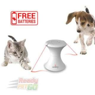 AUTOMATIC ROTATING LASER LIGHT TOY FOR DOGS AND CATS