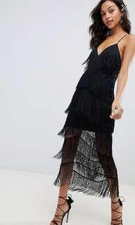 BNWT ASOS fringe dress