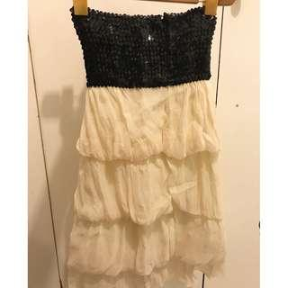 Dress blink black