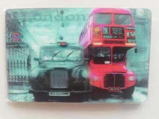 3D London fridge magnet rm6 NEW