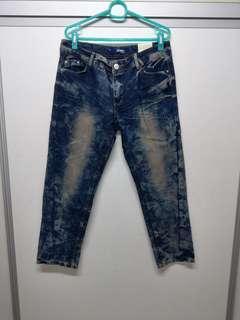🚚 全新韓版造型牛仔褲尺碼XL