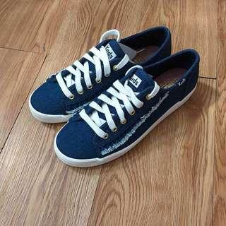 Keds Ruffle Denim Shoes