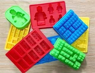 Lego Ice Tray / Chocolate Mold / Jello Lego