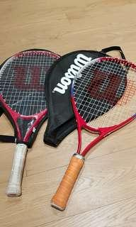 Wilson Tennis Racket for the juniors