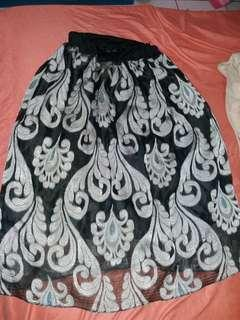 #maudompet rok batik