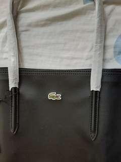 Lacoste Black Tote Shoulder Bag repriced