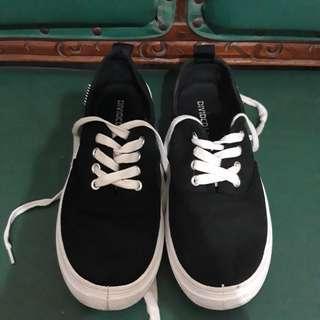 H&M SNEAKERS BLACK-WHITE