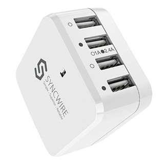 🚚 SYNCWIRE 4PORT CHARGING PORT