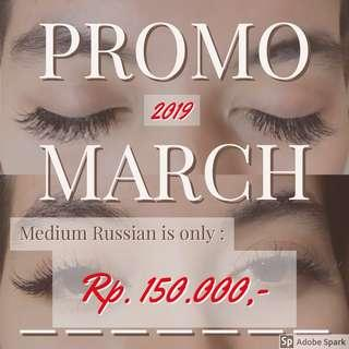 PROMO Maret 2019 Eyelash Extension Medium Russian.