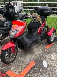 PGO IME 150 3 Wheel scooter 2B bike