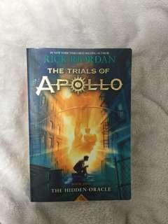The trials of Apollo by Rick Riordan book one